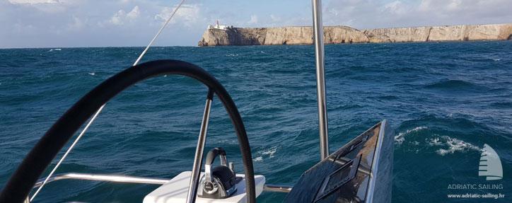 Adriatic Lion - under way