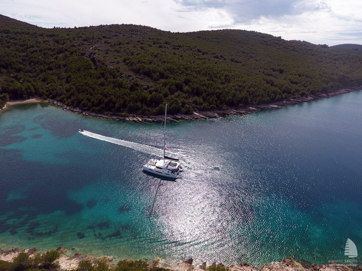 Catamarans in Croatia
