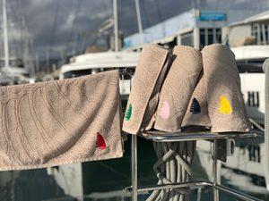 beach towels Adriatic Sailing