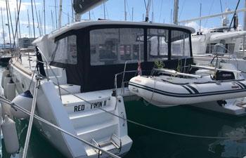 """<a href=""""https://www.adriatic-sailing.hr/fleet/lagoon-450f-3-2/"""">RED TWIN II</a>"""